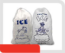 Ice Bags Bags Of Ice Logo Bag Ice Plastic Cold Bags